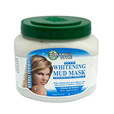 Hollywood Style Facial Whitening Mud Mask, 600g