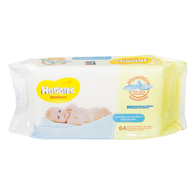 Huggies Newborn Wipes, 64-Count