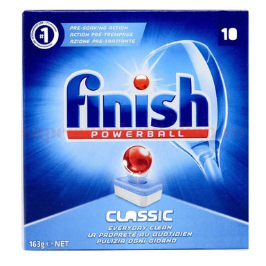 Kitchen Cleaners - Finish Powerball Classic Dishwasher Tablets, 10 Tablets
