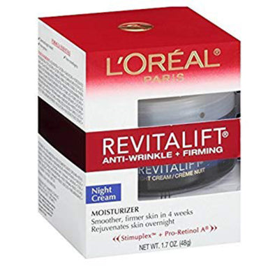L'Oreal Paris Revitalift - Night Cream Anti-Wrinkle + Firming, 48g