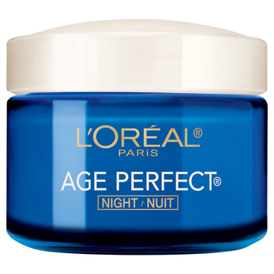 L'Oreal Paris Age Perfect Night Cream, Anti-Sagging + Anti-Age Spot Moisturizer 2.5 oz