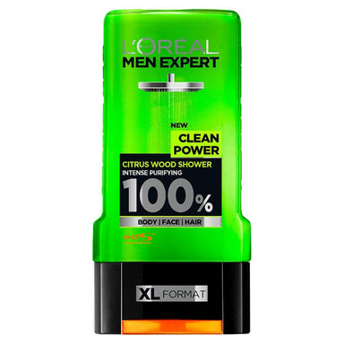L'Oreal Paris Men Expert Clean Power Shower Gel, 300 ml