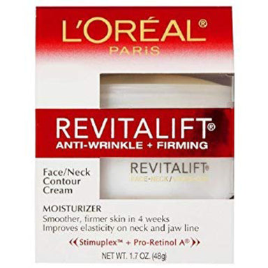 L'Oreal Paris Revitalift - Face & Neck Cream Anti-Wrinkle + Firming, 48g