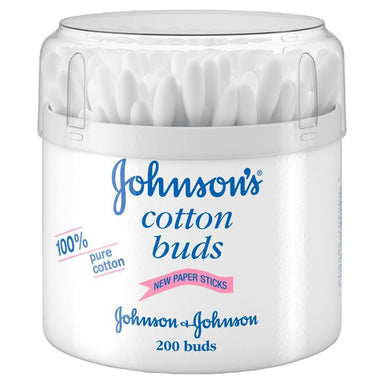 Makeup - Johnson's Pure Cotton Buds, 200 Buds