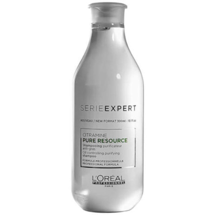L'Oreal Professionnel Serie Expert, Pure Resource Citramine Oil Controlling Purifying Shampoo, 10.1 Oz
