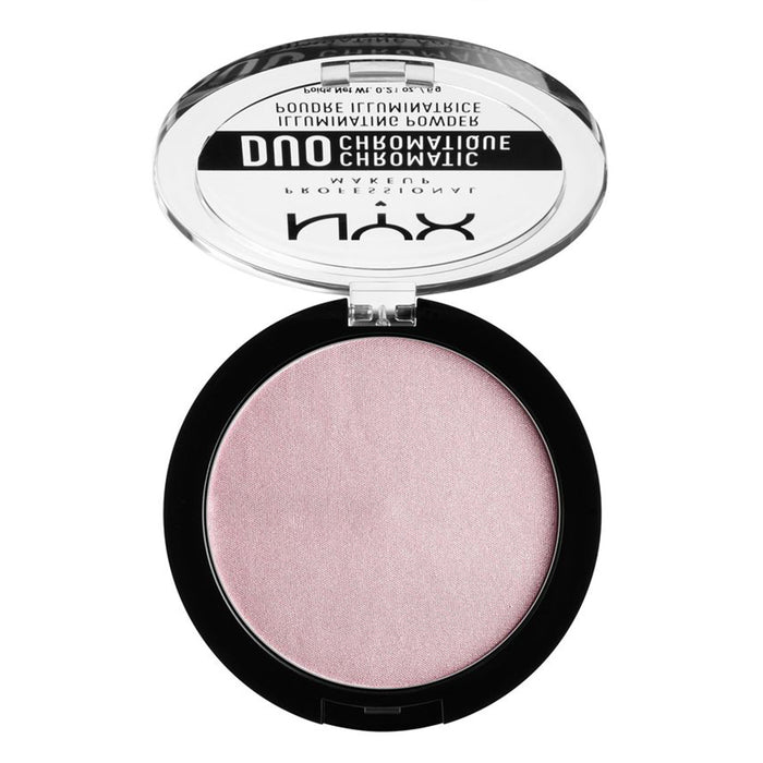 NYX PROFESSIONAL MAKEUP Duo Chromatic Illuminating Powder, Lavender Steel