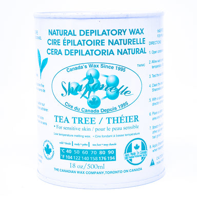 Spa Ronelle Natural Depilatory Wax, Tea Tree, 18oz
