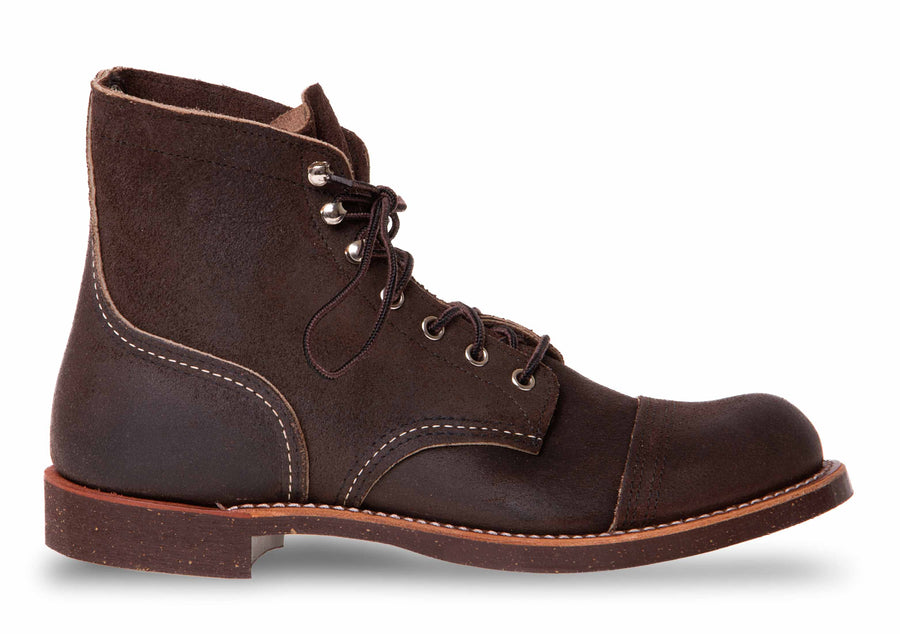 Red Wing Chocolate Iron Ranger Muleskinner