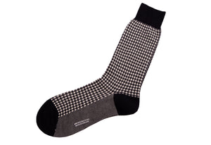 Pantherella Houndstooth Socks