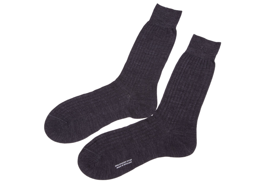 Pantherella Escorial Wool Ribbed
