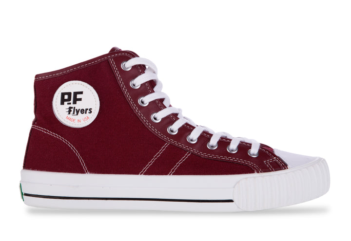 P.F Flyers Center Hi Burgundy