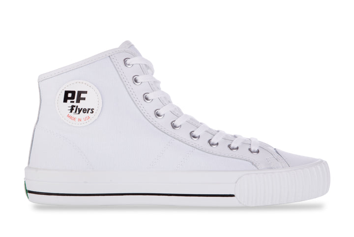 P.F Flyers Center Hi White