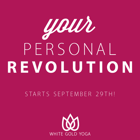 40 Days to Personal Revolution - Starts September 29