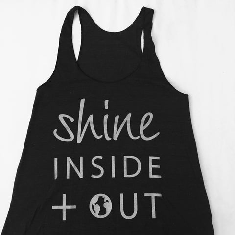 Shine inside + out Tank Top