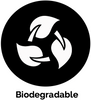 ecoimagine symbol biodegradable