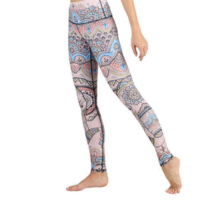 Mystic Elephant Leggings Leggings Yoga Democracy