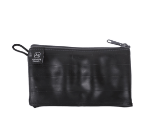 "The Roadie Zip Pouch - Mid-Size Zipper Pouches Alchemy Goods Coal Mid Size - 7"" x 4"""