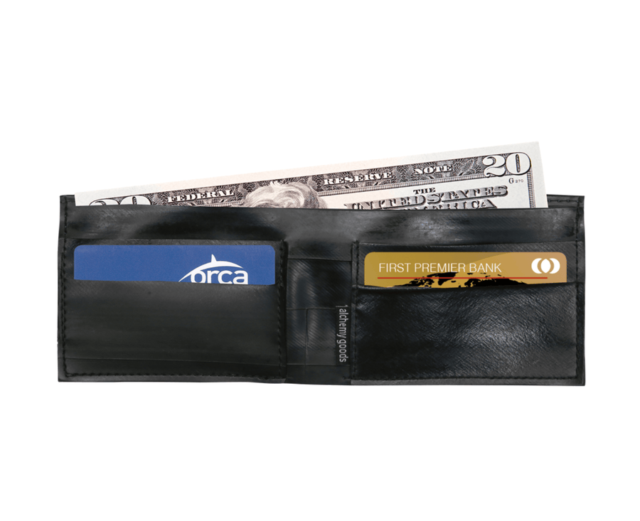 Franklin Reflective Wallet Wallets Alchemy Goods