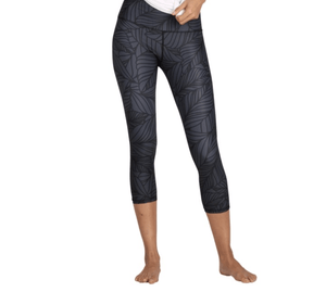 Urban Camo Slate Crops Leggings Yoga Democracy