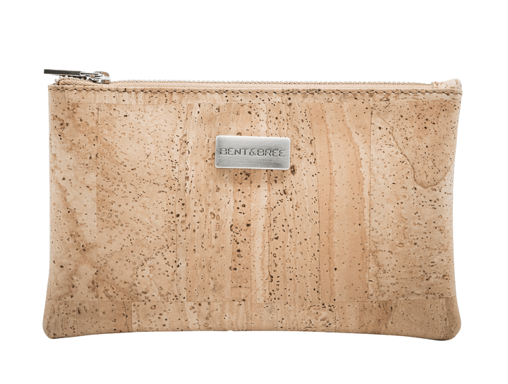 Maia Petite Cork Clutch Wristlets Bent & Bree Natural