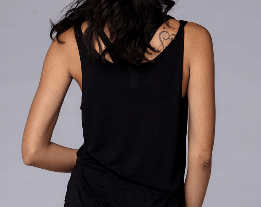 Yogavated Scoop Neck Tank Top Tank Tops Yogavated