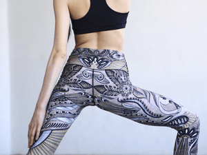 Desert Goddess Leggings Leggings Yoga Democracy