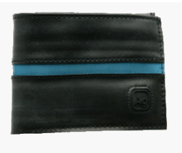 Franklin Reflective Wallet Wallets Alchemy Goods Blue Reflector