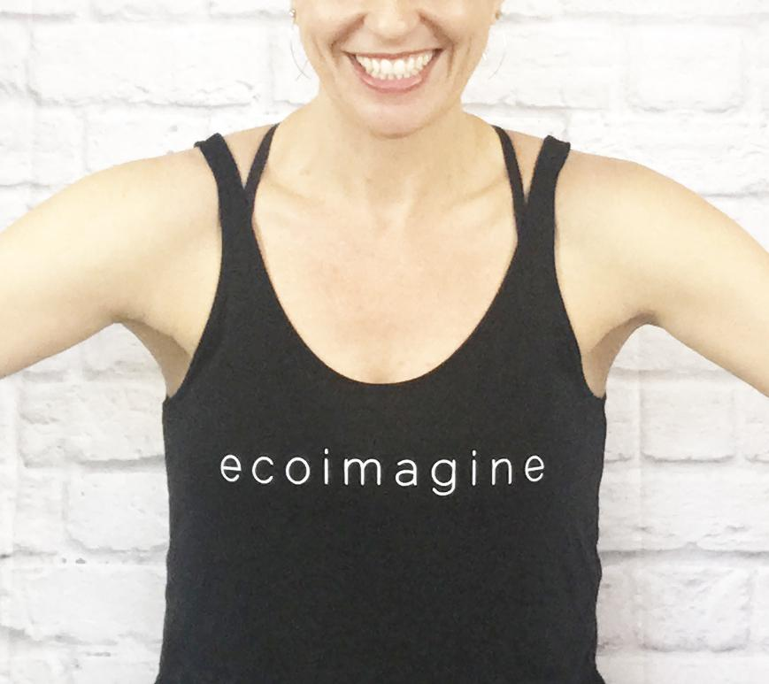 ecoimagine Scoop Neck Tank Top Tank Tops ecoimagine