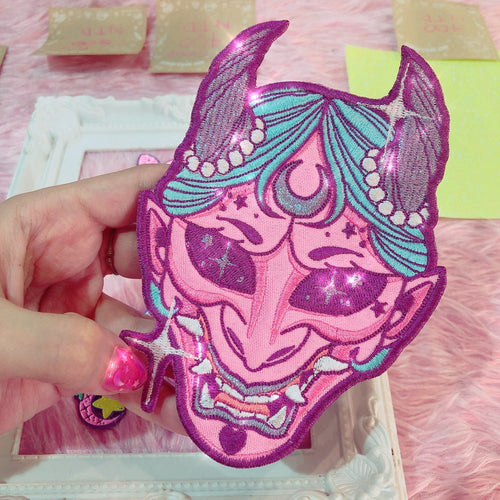 KAWAII HANNYA 👹 IRON PATCH