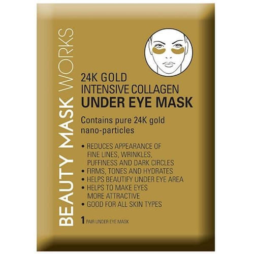 24K Gold Collagen Under Eye Mask (Beauty Mask Works)