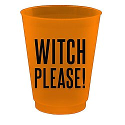 Cocktail Party Cups - Witch Please