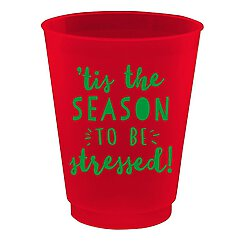 Cocktail party cups - Season to be Stessed