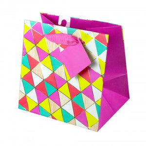Bright Geometric Gift Bag - Small