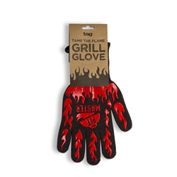 Pit Master Grill Glove - Red