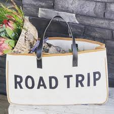 Road Trip Canvas Tote Bag