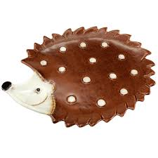 Hadley The Hedgehog Ceramic Plate