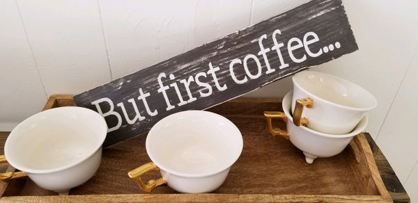 But first coffee sign, farmhouse kitchen coffee sign