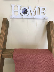 Coat hooks and photo frame, home