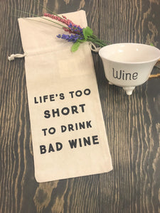 Wine bags, funny