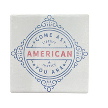 Load image into Gallery viewer, Americana Ceramic Coasters - Assortment of 4