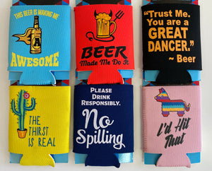 Novelty Insulated Can Coozie