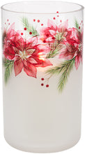 Load image into Gallery viewer, Poinsettias - Jar Candle Holder