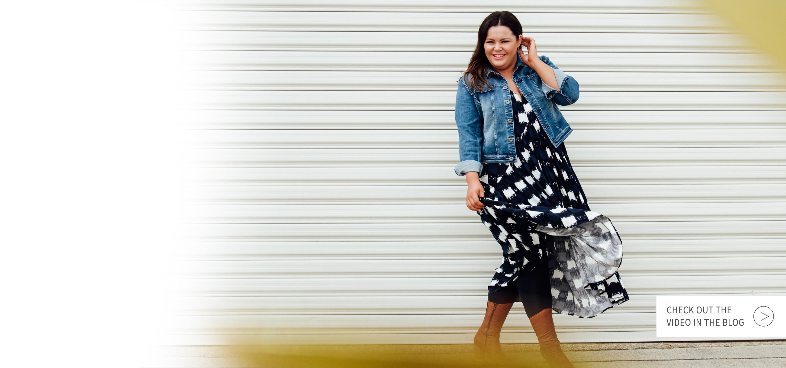How to wear Stace's FAVOURITE Summer Peak Dress in Winter