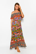 Assissi Rainbow Maxi Dress