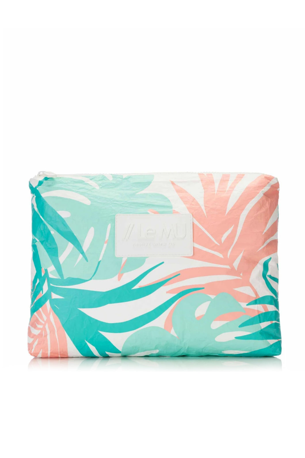Tropics Splash Proof Medium Pouch