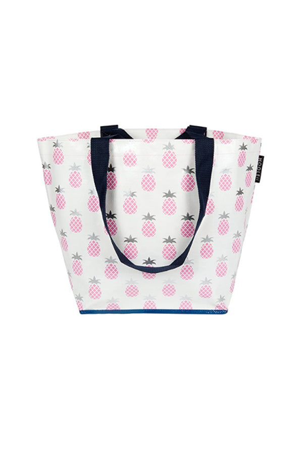 Pink Pineapples Small Mooleii Tote - Blue Bungalow