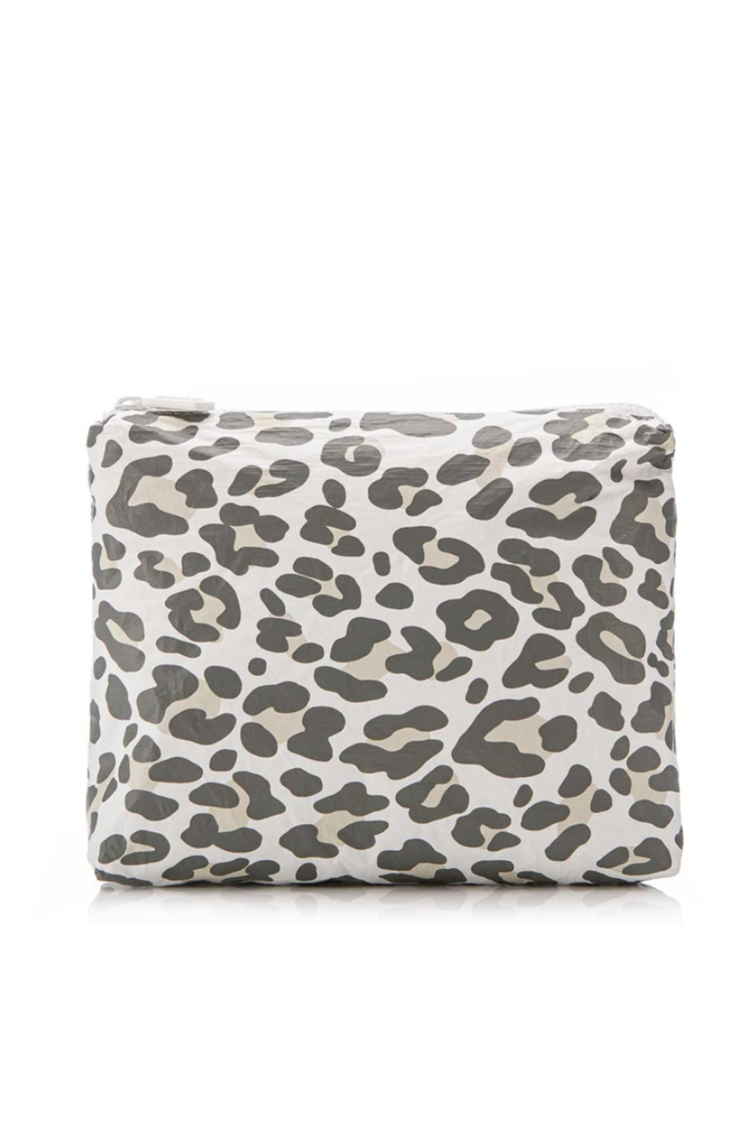 Snow Leopard Splash Proof Small Pouch