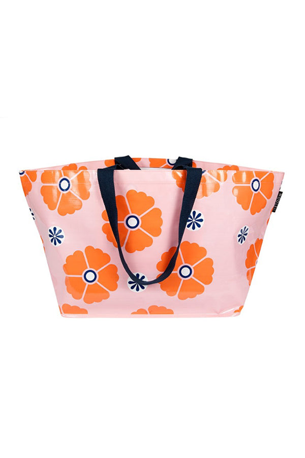 Blush Floral Large Mooleii Tote - Blue Bungalow