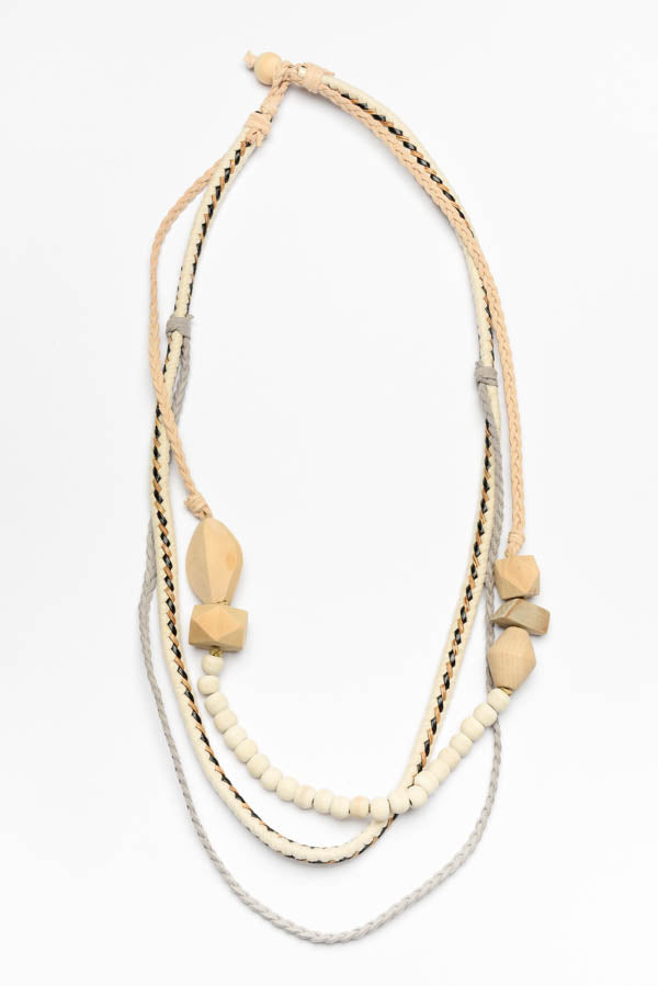 Natural Tribal Necklace - Blue Bungalow