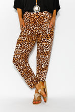 Avery Leopard Pant - Blue Bungalow